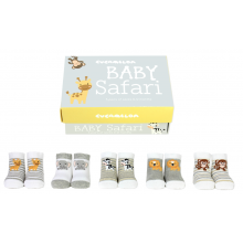 Baby Safari Socks
