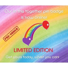 Limited Edition In This Together Enamel Pin Badge - PRE ORDER