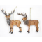 Brown Acrylic Stag Decoration